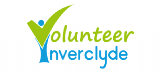 Logo for CVS Inverclyde - A volunteer community powered by TeamKinetic